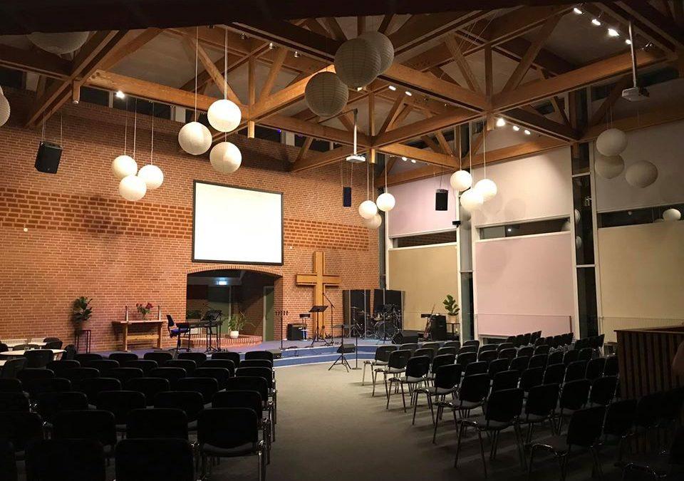 pinsekirken esbjerg kirkesalen